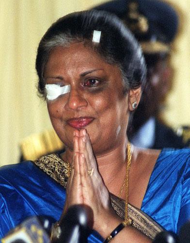 நம்பிக்கை தரும் மனுஷி சந்திரிகா