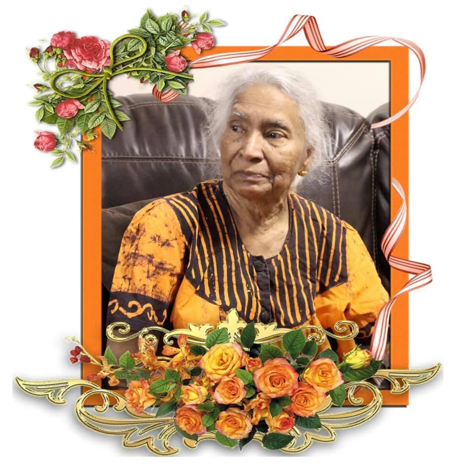 Mrs Sarveswary Paramasamy passed away